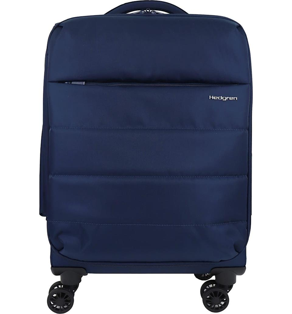 <p>The soft-sided <span>Hedgren Axis 20-Inch Soft Sided Carry-On</span> ($195) isn't just lightweight and stylish, but the material is water-repellent. Its small size is great for weekend getaways.</p>