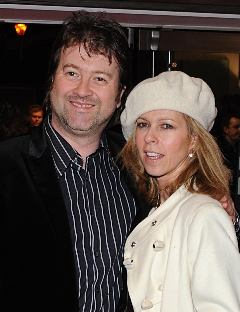 """File photo dated 10/01/08 of Kate Garraway and her husband Derek Draper, she says doctors """"don't know how much better"""" her husband can get and """"he sort of can't wake-up""""."""