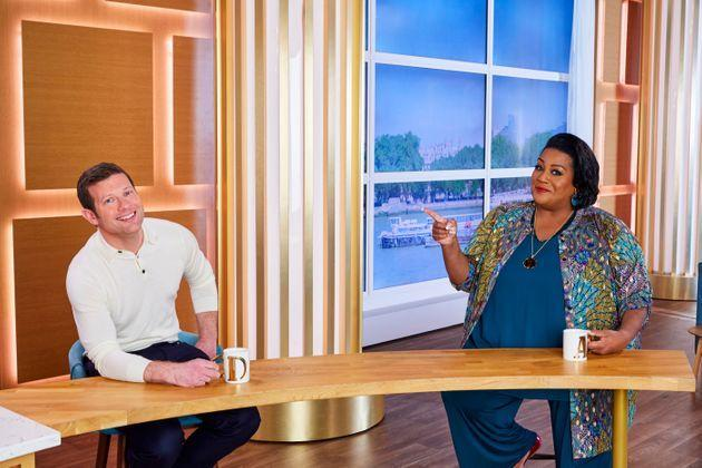 Alison co-hosts Fridays with Dermot O'Leary (Photo: ITV/Shutterstock)