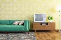 <p>There were a lot of things in the '60s that were cringe-worthy, but bright, bold patterns that covered rooms from floor to ceiling was one of the worst offenders.</p>
