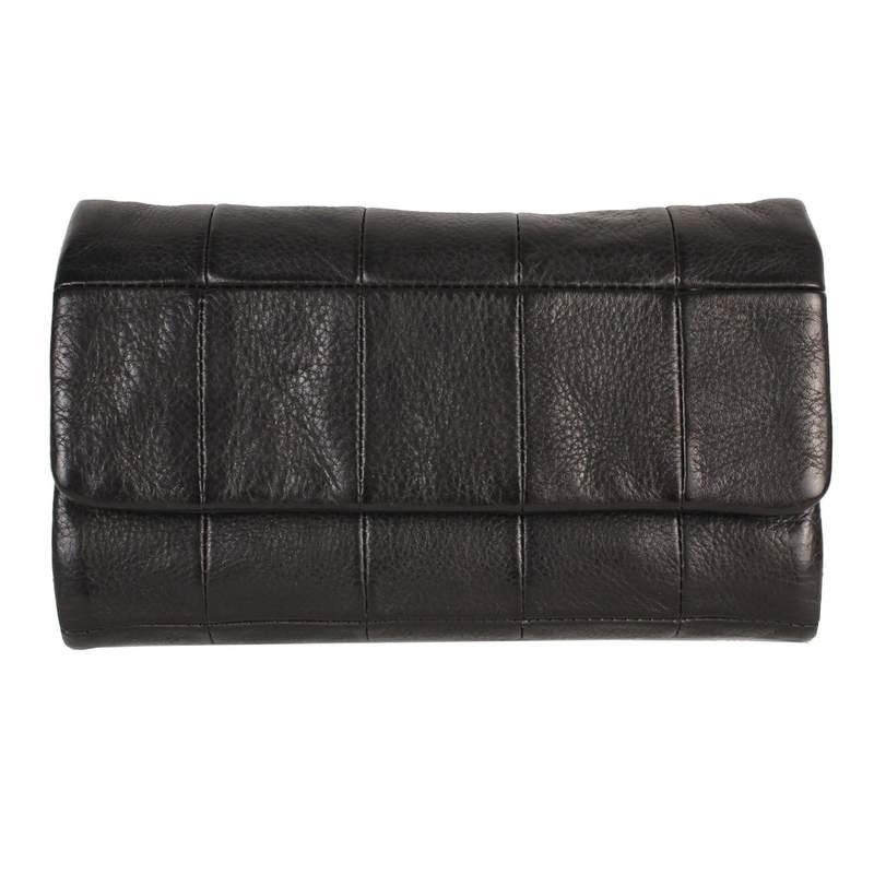 """Family-owned Latico Leathers is a gem for buttery-soft, 100% genuine leather goods. We love the box-stitching detail on this wallet-slash-clutch, which has room to spare for receipts. $115, Latico Leathers. <a href=""""https://laticoleathers.com/products/cort?variant=18959604482146"""" rel=""""nofollow noopener"""" target=""""_blank"""" data-ylk=""""slk:Get it now!"""" class=""""link rapid-noclick-resp"""">Get it now!</a>"""