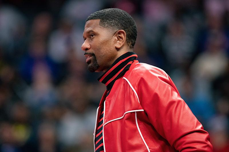 Former NBA Player Jalen Rose