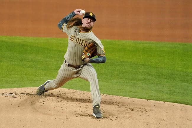 Clevinger replaced on Padres playoff roster with elbow issue