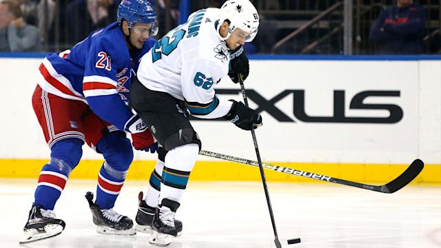 <p>The Sharks are out-shooting their opponents and getting good looks. But not as many of those looks are finding the back of the net as the team would like.</p>