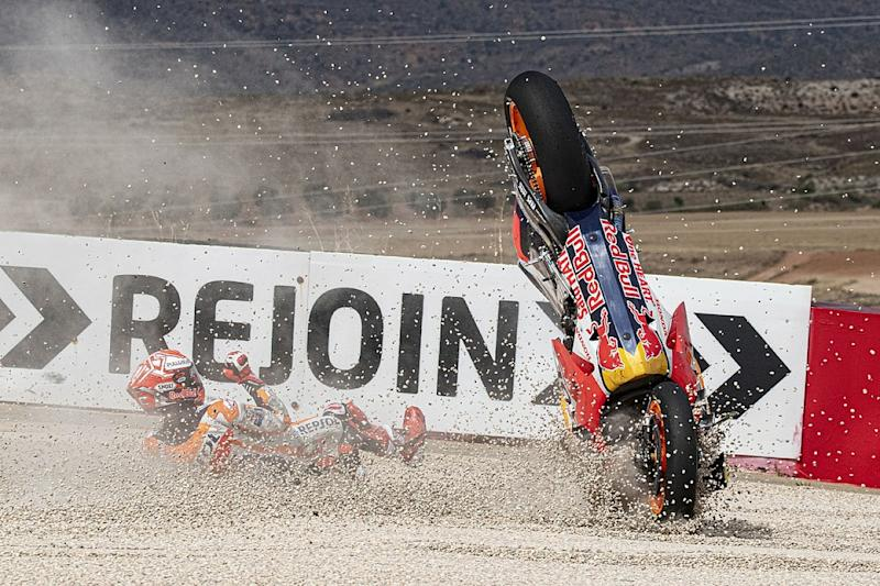 Marquez wanted to risk MotoGP Aragon crash