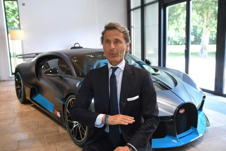 """""""Only the W16 motor provides the emotion and the passion expected by our supercar clients,"""" says Bugatti chief Stephan Winkelmann (AFP Photo/PATRICK HERTZOG)"""