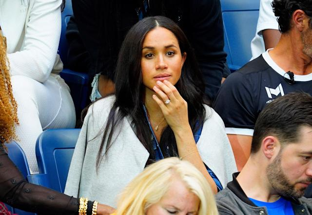 """In <a href=""""https://people.com/royals/serena-williams-wont-give-meghan-markle-parenting-advice/"""" rel=""""nofollow noopener"""" target=""""_blank"""" data-ylk=""""slk:a recent interview"""" class=""""link rapid-noclick-resp"""">a recent interview</a>, the tennis star shared that she is refraining from offering parenting advice to Meghan for now. """"I never pass on words of wisdom because I feel like everyone, when they have a kid, especially when you just have a baby, it is so difficult to just be,"""" Williams told <span>BBC Breakfast</span> ahead of Wimbledon. """"And it's just like, get through the first three months, four months, and then we can talk."""""""