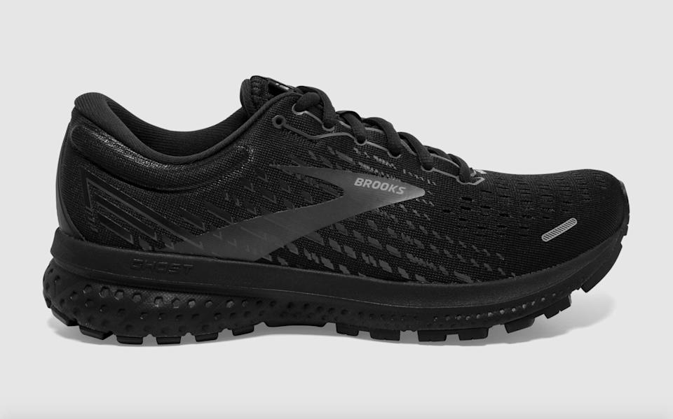 """<p>""""I've been going on a lot of walks this summer as I work my way back from a running injury, and the <span>Brooks Ghost 13 Running Shoes</span> ($110, originally $130) have been my go-to. These shoes give a lot of cushy support and bounce and I like the all-black look, which goes with just about anything while I'm out and about. My feet are pretty picky, but these have done the job!"""" - Maggie Ryan, assistant editor, Fitness</p>"""