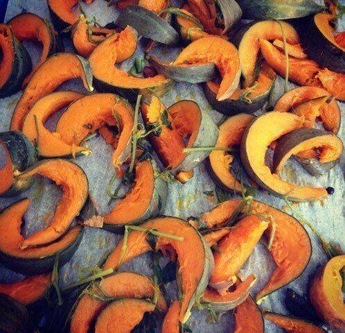 Alice Waters' roasted squash. (Photo: Courtesy of Alice Waters)
