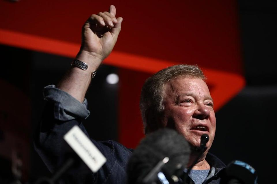 william shatner admits that hes terrified to go into space