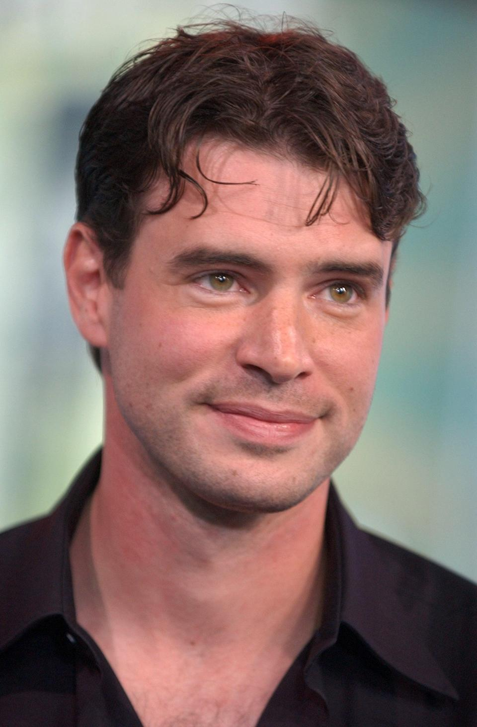 <p>Scott Foley stopped by MTV Studios in NYC for <b>TRL</b> in 2003.</p>
