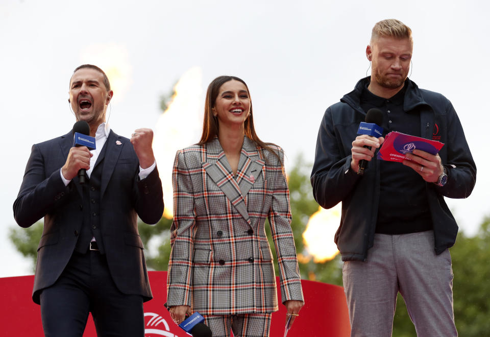 Paddy McGuinness and Freddie Flintoff are set to present the new best-of. (Photo by Luke Walker-ICC/ICC via Getty Images)