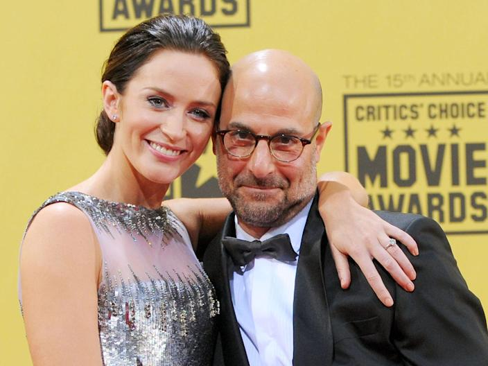 Emily Blunt and Stanley Tucci brother in law Getty Images