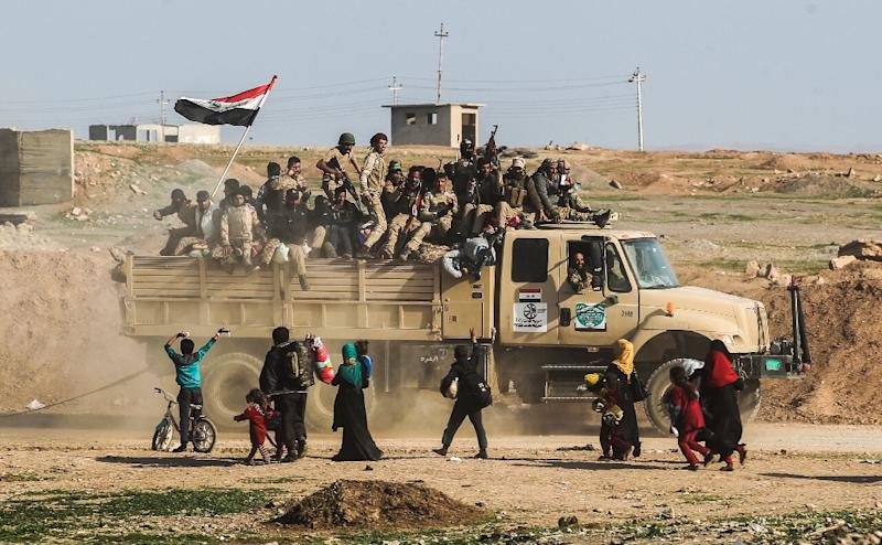 Iraqi forces launched an operation to retake west Mosul from the Islamic State group (IS) on February 19, 2017