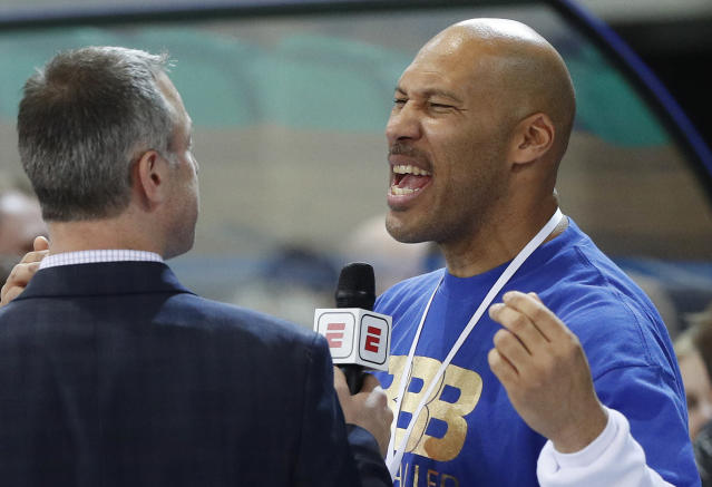 LaVar Ball is talking again. (AP)