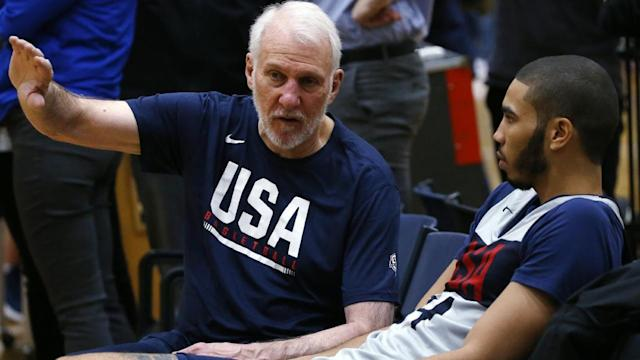 Team USA vs Boomers roster, basketball, Melbourne; Gregg Popovich, How culture and pride is guiding Team USA ahead of the 2019 FIBA World Cup