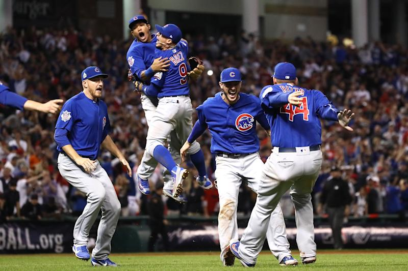 The Happiest Photo of the Chicago Cubs Celebrating Their Historic World Series Win