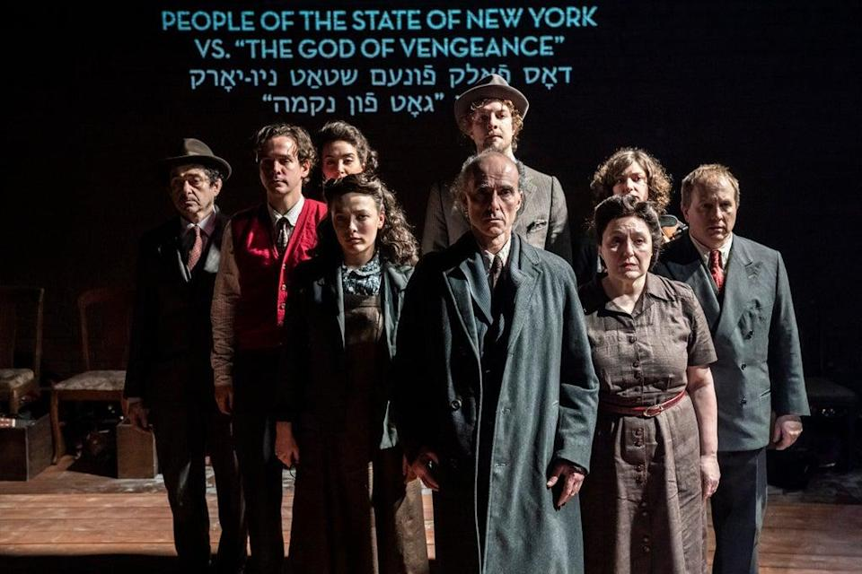The cast of Indecent  (Johan Persson)