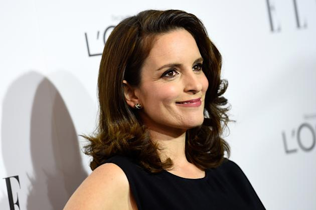 Tina Fey arrives at ELLE's 21st Annual Women In Hollywood