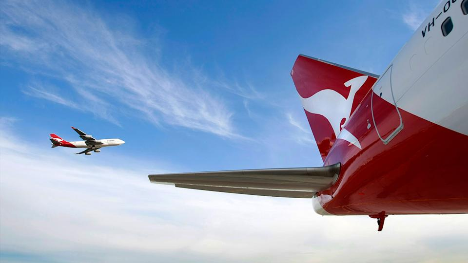 Over 100 Qantas employees have been linked to crime according to a law enforcement report. Source: AAP