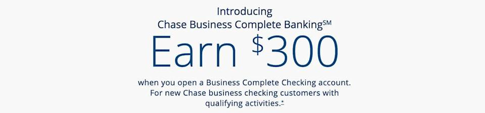 chase banner