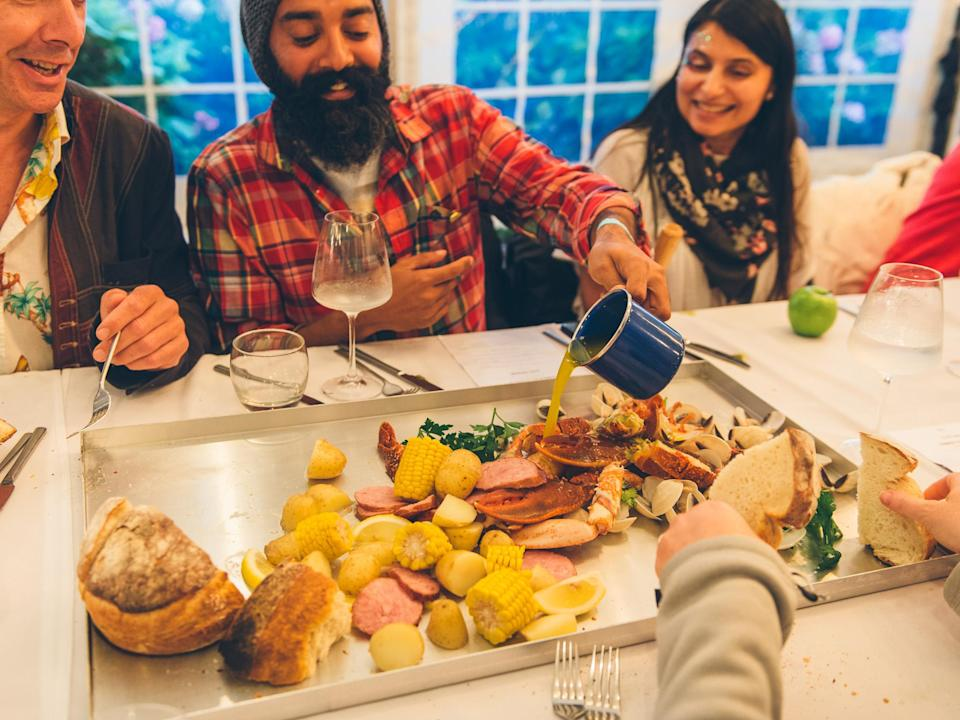 <p><b>Dinner at Clough's, which last year was hosted by Gizzi Erskine, is a definite must. After all, how many festivals can say they boost celebrity chefs and fine dining? </b></p>