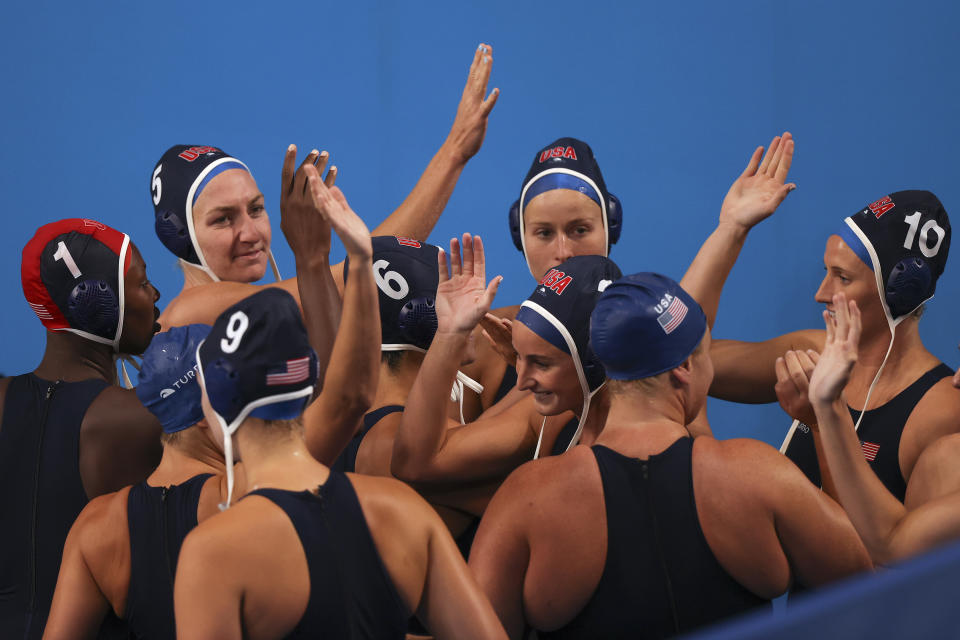 The United States beat Japan 25-4 to claim the largest win in Olympics history on Friday ... for a short period of time. (Clive Rose/Getty Images)