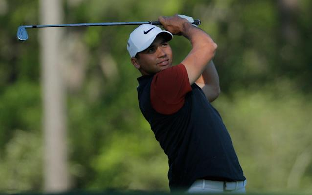 <span>Jason Day is first out on the course at 15:20 BST</span> <span>Credit: Mike Segar/Reuters </span>