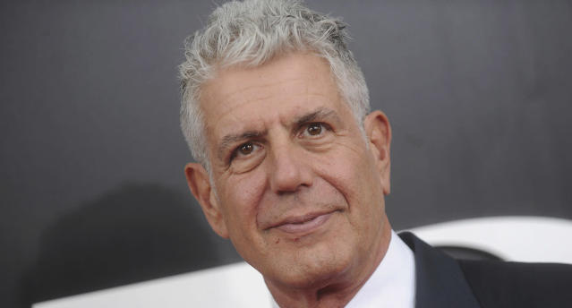 Anthony Bourdain (Photo: AP)