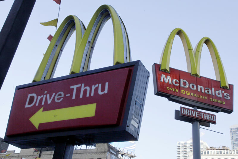 McDonald's sales edge up on better US results