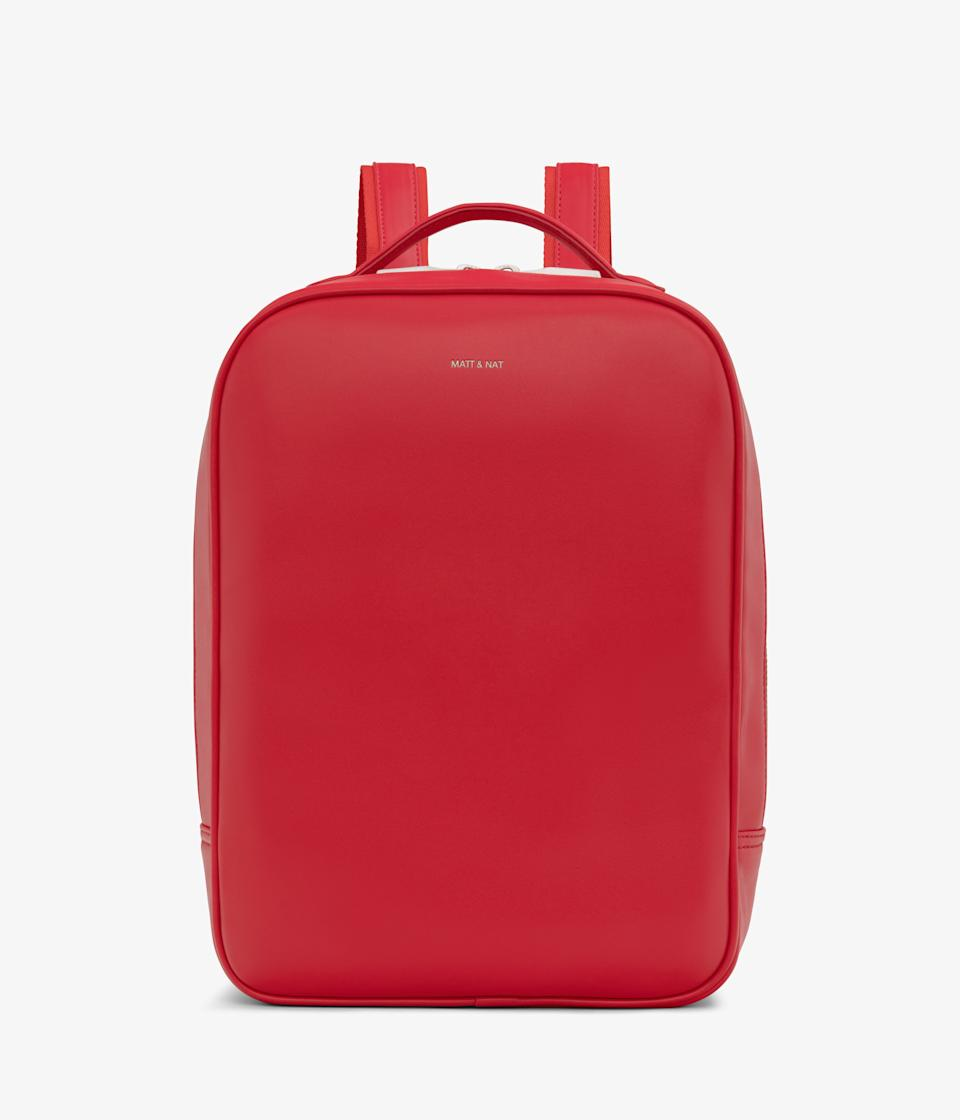 Alex Backpack in Pomegranate.
