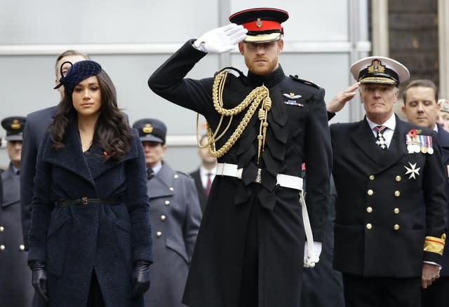 Royals at the Field of Remembrance