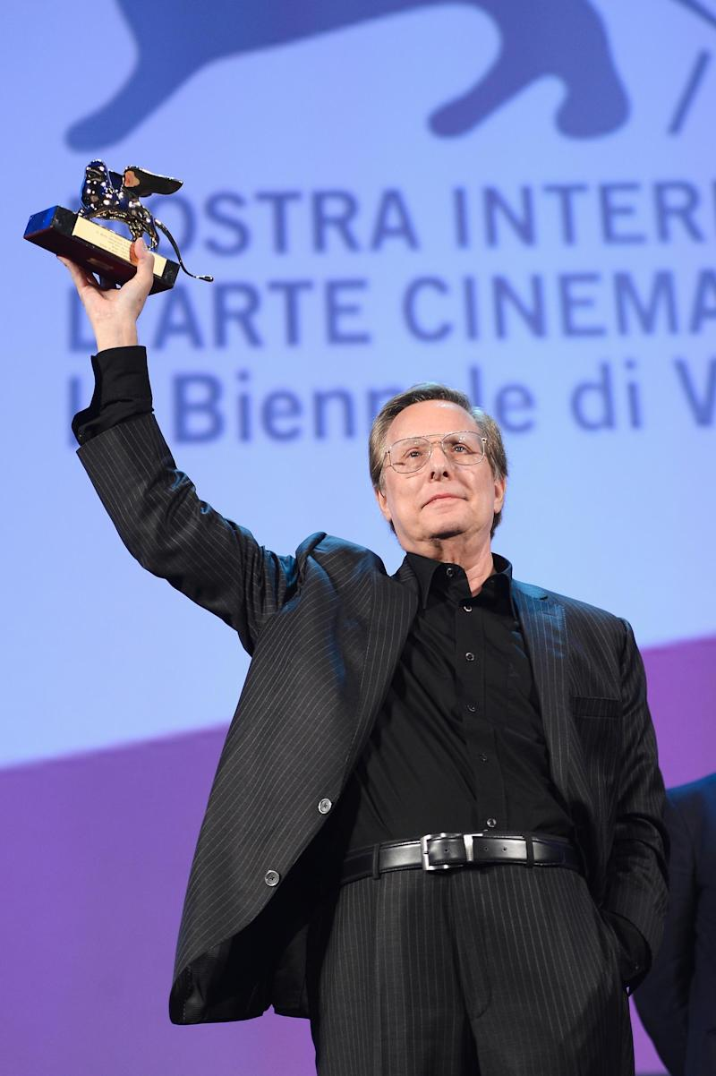 Director William Friedkin receives the Lifetime Achievement Award ceremony during Sorcerer screening at the 70th Venice International Film Festival in 2013. (Pascal Le Segretain/Getty Images)