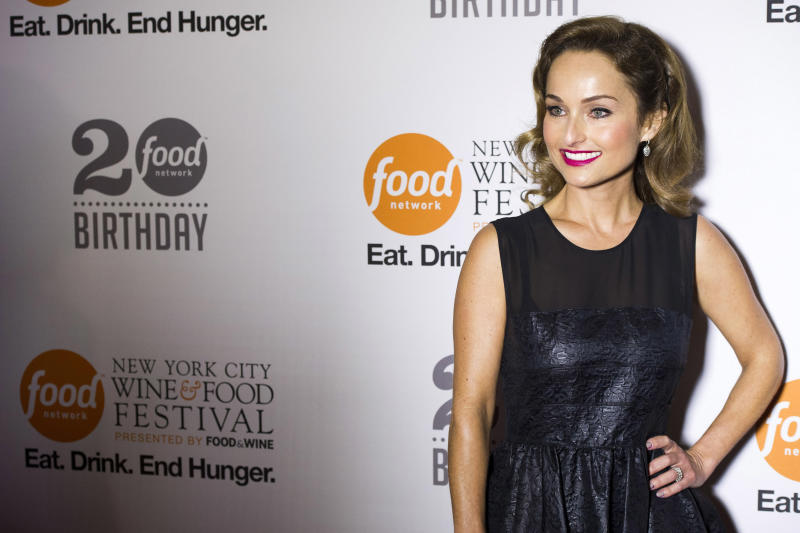 Giada De Laurentiis attends the Food Network's 20th birthday party on Thursday, Oct. 17, 2013, in New York. (Photo by Charles Sykes/Invision/AP)