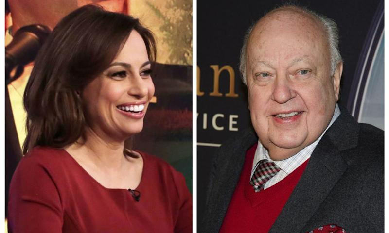Julie Roginsky, left, appears on The Five television program in 2015. She has accused Roger Ailes of sexual harassment, joining more than 20 other women who have done so.