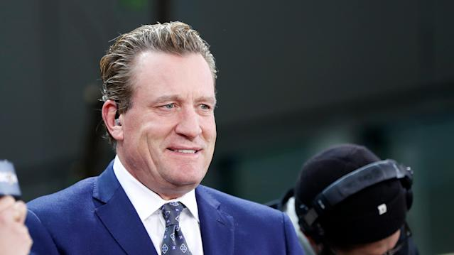Jeremy Roenick made the comments during the Dec. 19 episode of Spittin' Chiclets, a popular hockey podcast on Barstool Sports. (Photo by Fred Kfoury III/Icon Sportswire via Getty Images)