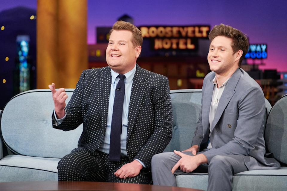LOS ANGELES - MARCH 10: The Late Late Show with James Corden airing Monday, March 9, 2020, with guests Thandie Newton and Niall Horan. (Photo by Terence Patrick/CBS via Getty Images)