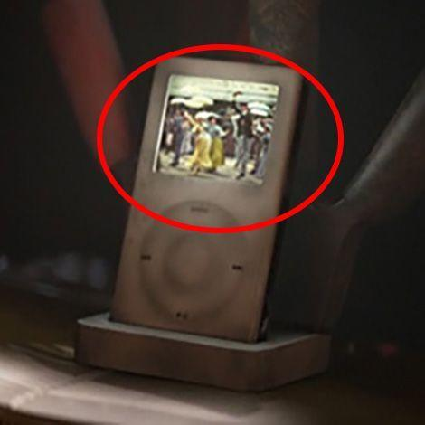 <p>While the Mac gets the spotlight in <em>Brave</em>, the iPod gets its cameo in <em>Wall-E</em> when Eve watches <em>Hello Dolly</em> on a first-gen version of the machine. Not only that, when Wall-E finishes his charging sequences, he makes the unmistakable Mac startup sound. </p>