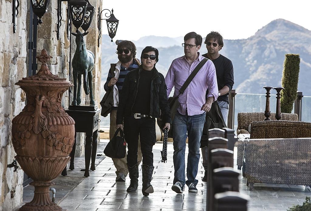 "Zach Galifianakis, Ken Jeong, Ed Helms and Bradley Cooper in Warner Bros.' ""The Hangover Part III"" - 2013"