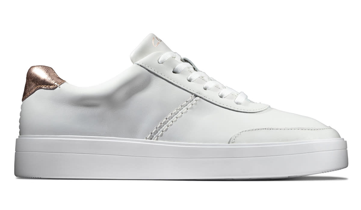 The most stylish sneakers you'll own. (Photo: Clarks)
