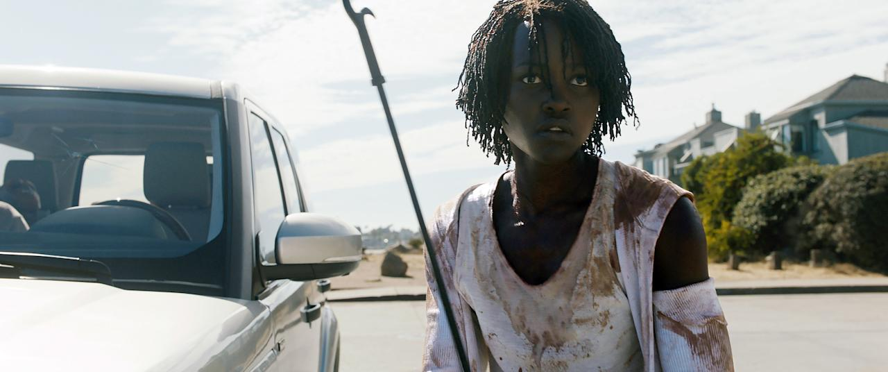 """Even if you've only seen the trailer for Jordan Peele's <em>Us,</em> you know that Lupita Nyong'o plays two parts, which is integral to the plot. You definitely don't want to miss the Oscar winner's badass fight scenes with…herself—and the terrifying twist at the end. <em>Available to rent on <a href=""""https://www.amazon.com/gp/video/detail/B07PH35NLY/ref=atv_dl_rdr"""">Amazon Prime Video</a></em>"""