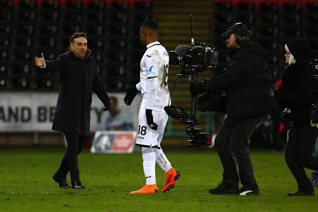 Swansea City dreaming of FA Cup semi-final at Wembley as they await winners of Tottenham vs Rochdale