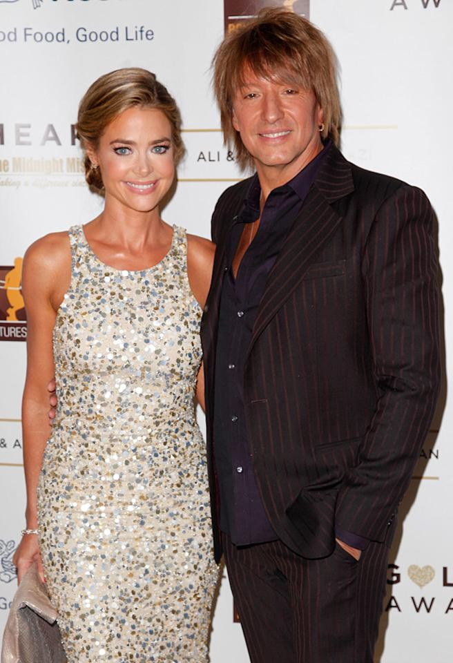 BEVERLY HILLS, CA - MAY 07:  Actress Denise Richards (L) and Richie Sambora attend the 12th Annual Golden Heart Awards Gala at the Beverly Wilshire Four Seasons Hotel on May 7, 2012 in Beverly Hills, California.  (Photo by Imeh Akpanudosen/Getty Images)