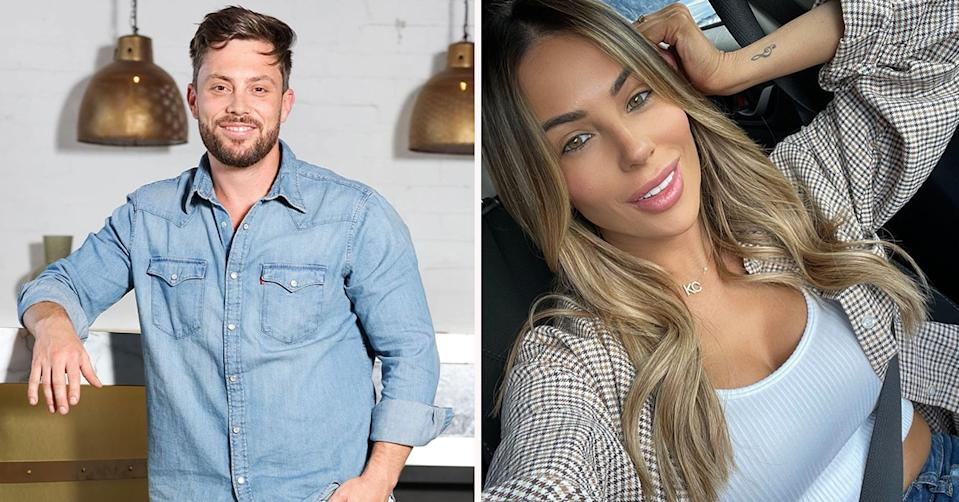 Married at First Sight star Jason Engler has made his relationship with former MAFS star KC Osbourne official on Instagram. Photo: Nine/Instagram