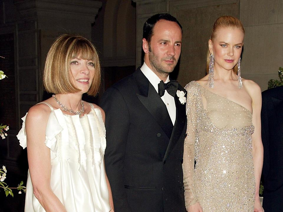<p><strong>The theme: </strong>Goddess: The Classical Mode </p> <p><strong>The co-chairs: </strong>Anna Wintour, Tom Ford and Nicole Kidman </p>