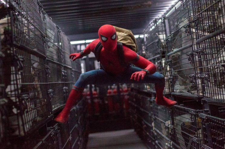 Spidey… is cleaning up at the box office – Credit: Sony Pictures