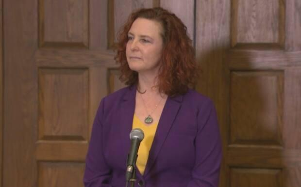 NDP Leader Alison Coffin says she wanted to see a specific schedule for public consultations on the economic report, but that didn't happen.