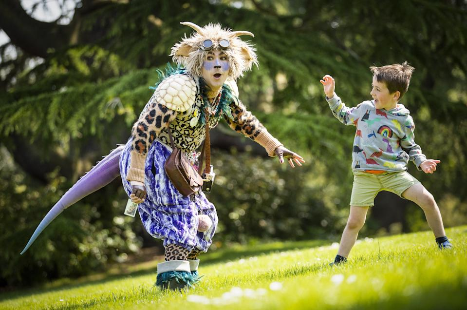 <p>More than half of children said they play outside less than before the pandemic hit</p> (PA Wire)