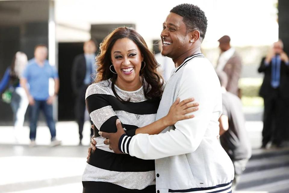 """<p><strong>The Game</strong> is a romantic dramedy about the wives and girlfriends of pro football players who work behind the scenes to make sure their partners stay grounded. But in the process, the couples often find themselves hitting relationship roadblocks, falling in and out of love, and generally getting into all kinds of wild situations that make for excellent TV.</p> <p><a href=""""https://www.hulu.com/series/56d49725-2143-41ac-b064-92a5c25f7ae7"""" class=""""link rapid-noclick-resp"""" rel=""""nofollow noopener"""" target=""""_blank"""" data-ylk=""""slk:Watch The Game on Hulu."""">Watch <strong>The Game</strong> on Hulu.</a></p>"""