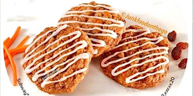 Apparently Adding Carrot Cake Cookies